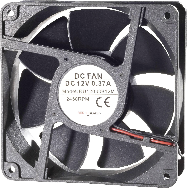 Axiální ventilátor TRU COMPONENTS RD12038B24M 189267, 24 V/DC, 41 dB, (d x š x v) 120 x 120 x 38 mm
