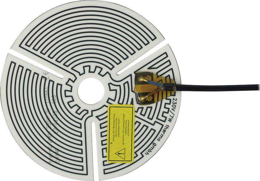 Tepelná fólie samolepicí Thermo 230 V/AC, 7 W, krytí IPX4, (Ø) 140 mm