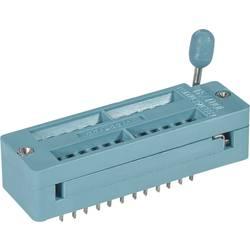 IC testovacia pätica 7.62 mm, 15.24 mm, pólů 24, 1 ks