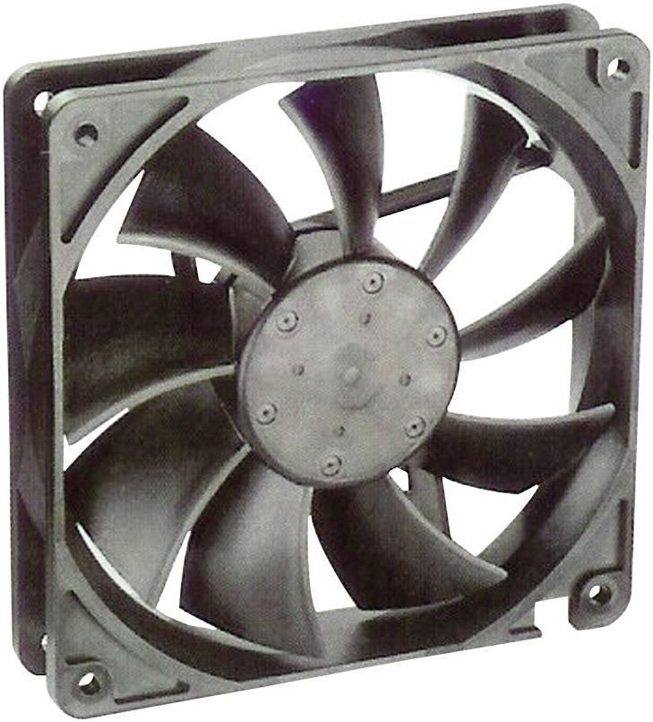 Axiálny ventilátor NMB Minebea 4710KL-05W-B50 4710KL-05W-B50, 24 V/DC, 41.5 dB, (d x š x v) 119 x 119 x 25 mm