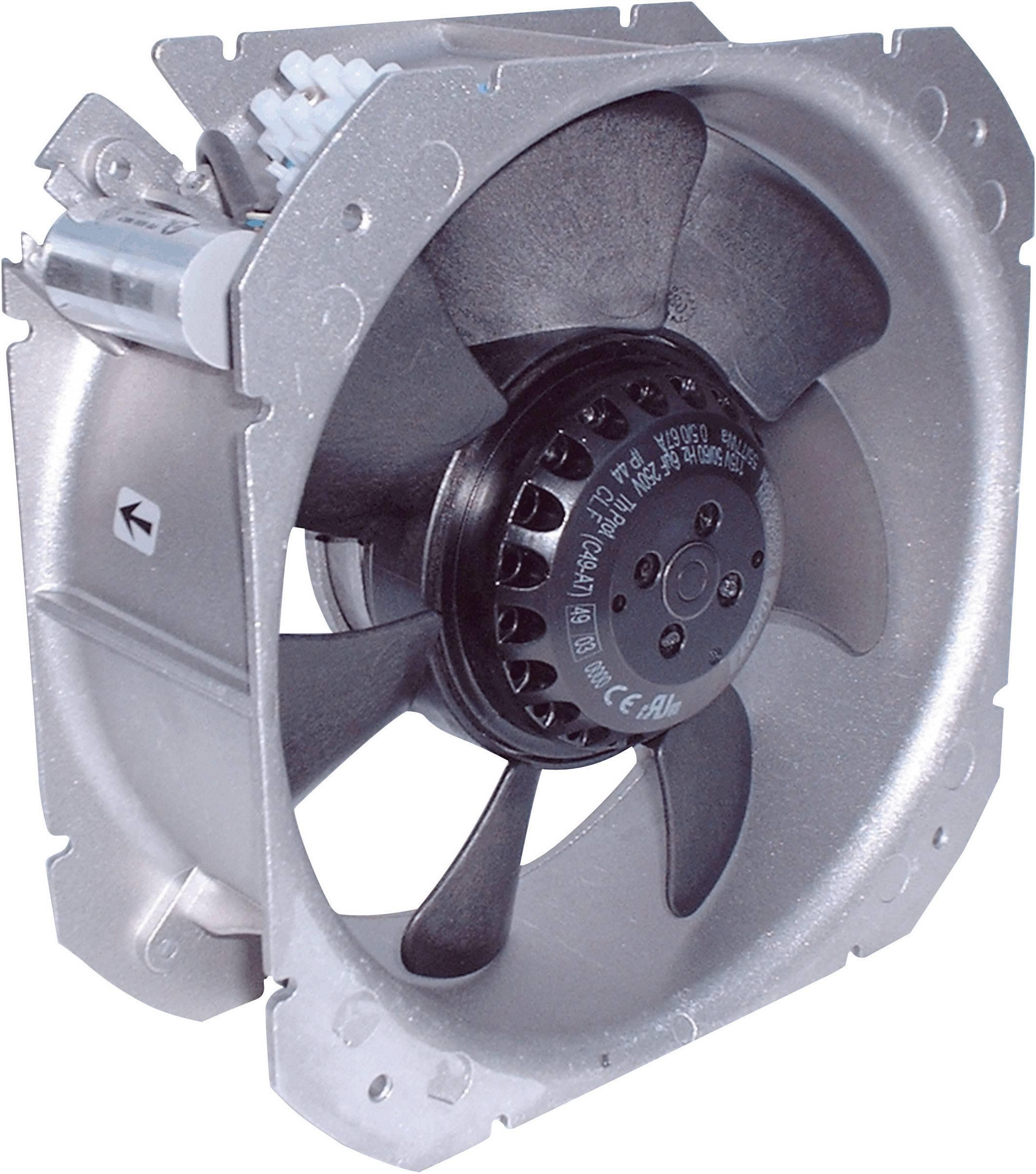 Axiálny ventilátor Ecofit 2VGC25 200V (C23-A6) 2VGC25 200V (C23-A6), 230 V/AC, 65 dB (A), (d x š x v) 218 x 218 x 83 mm
