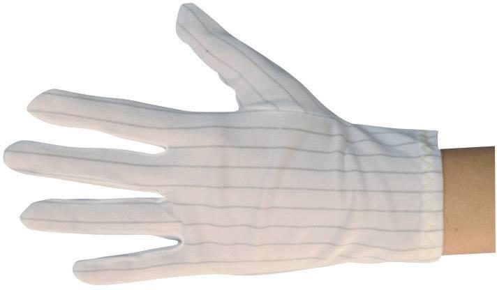 ESD rukavice BJZ C-199 2816-M, veľ. M, polyester, polyuretán