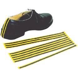 ESD jednorázové zemnící pásky na boty BJZ, 10 ks, žlutá, černá C-199 2151-C