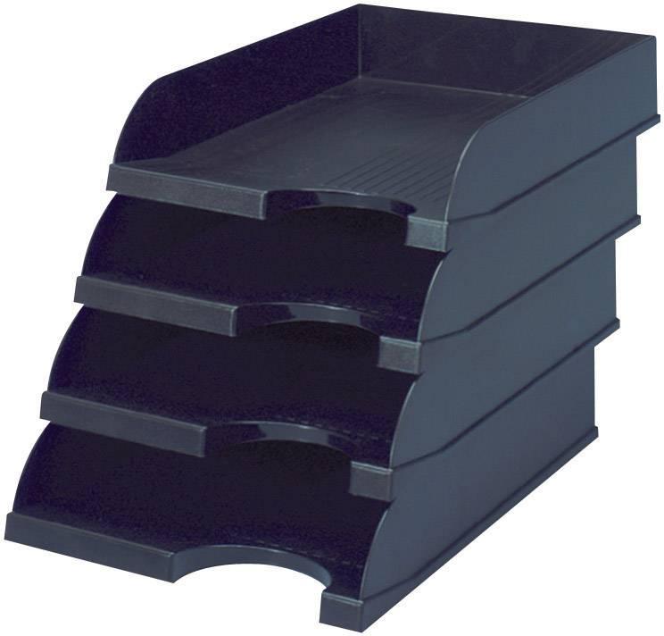 ESD skladovacia priehradka na dokumenty BJZ C-199 975, (d x š x v) 330 x 240 x 60 mm, čierna