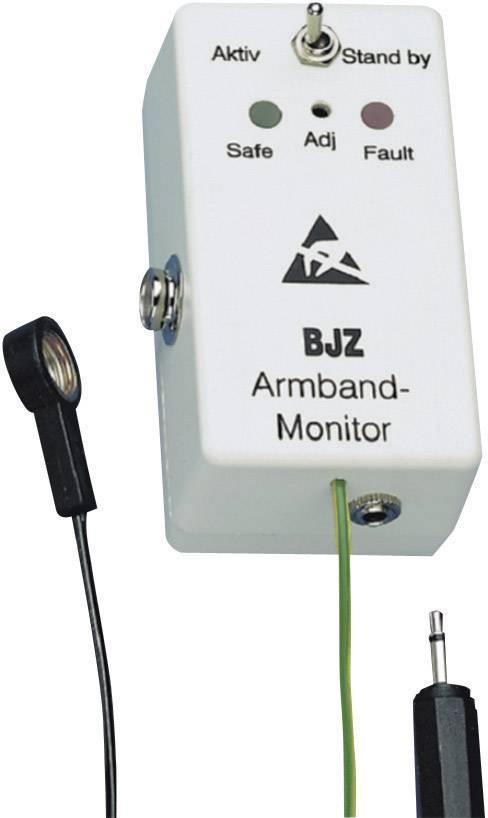 ESD monitorovací zařízení BJZ C-193 2331, měření: osobní uzemnění