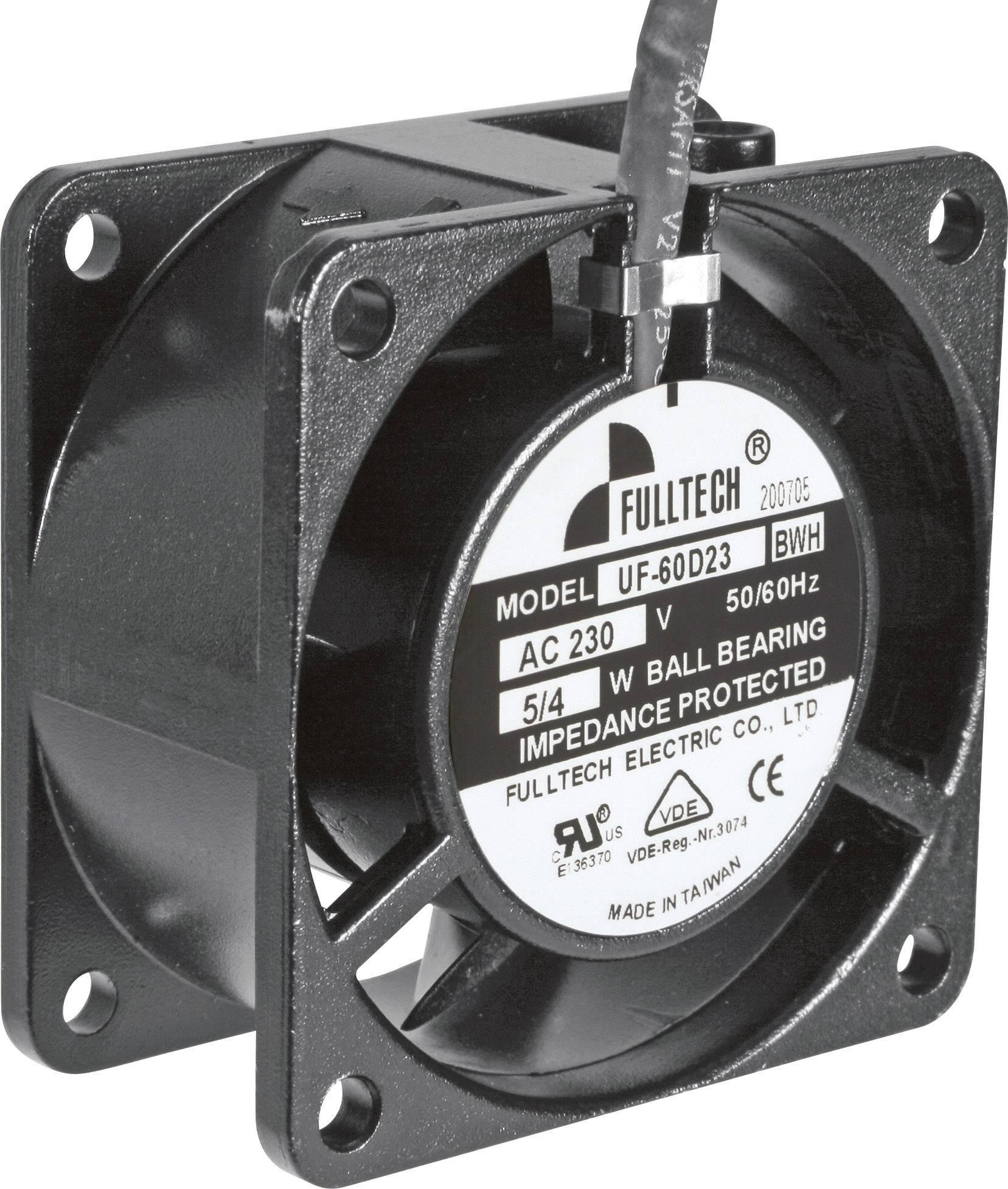 Axiálny ventilátor SEPA UF60D23BWH 836048301, 230 V/AC, 27 dB, (d x š x v) 60 x 60 x 30 mm