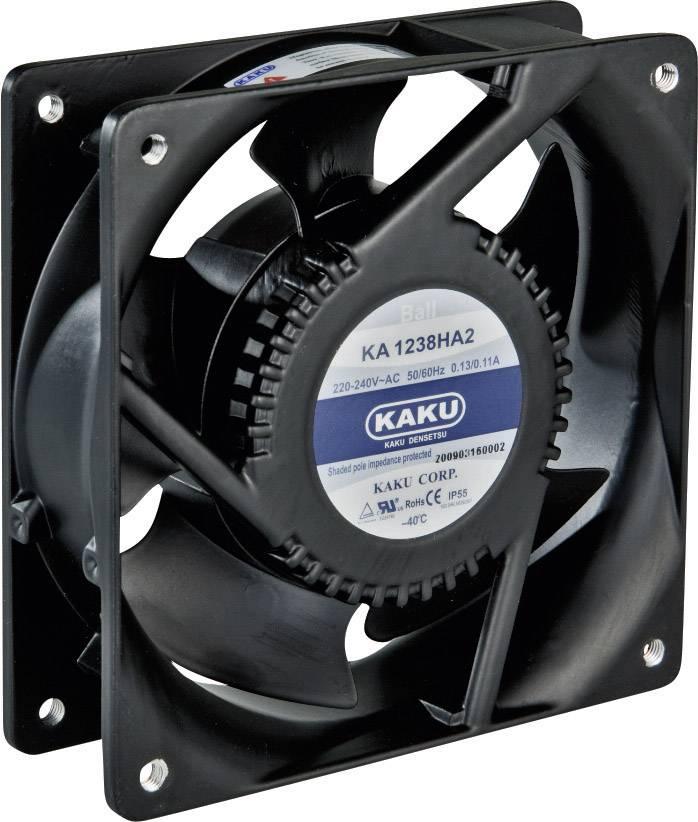 Axiální ventilátor Sepa KA1238XA2BMT, 861258403, 230 V/AC, 45 dBA, 120 x 120 x 38