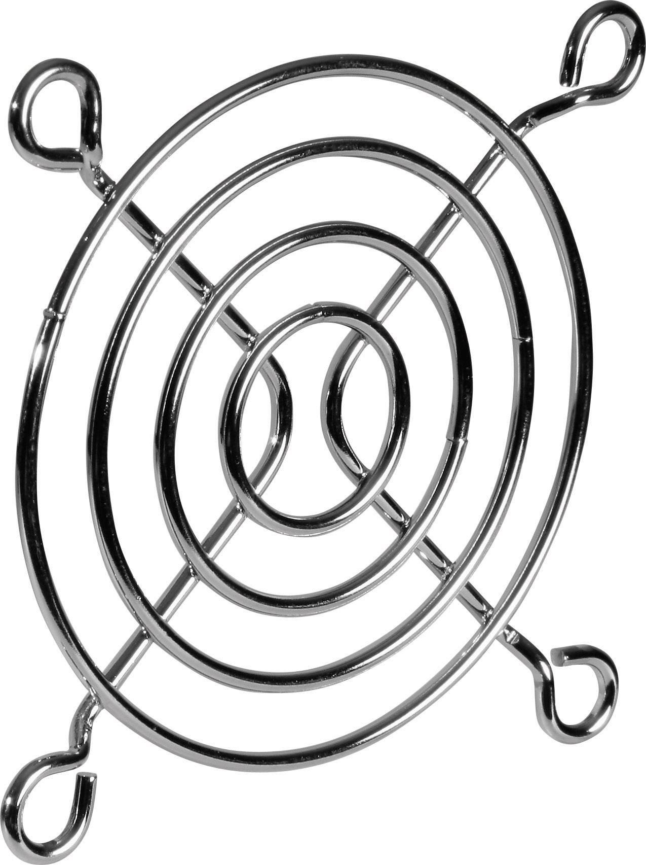 Vetracia mriežka SEPA;918010000, (š x v) 80 mm x 80 mm, 1 ks, oceľ, pochrómovaný