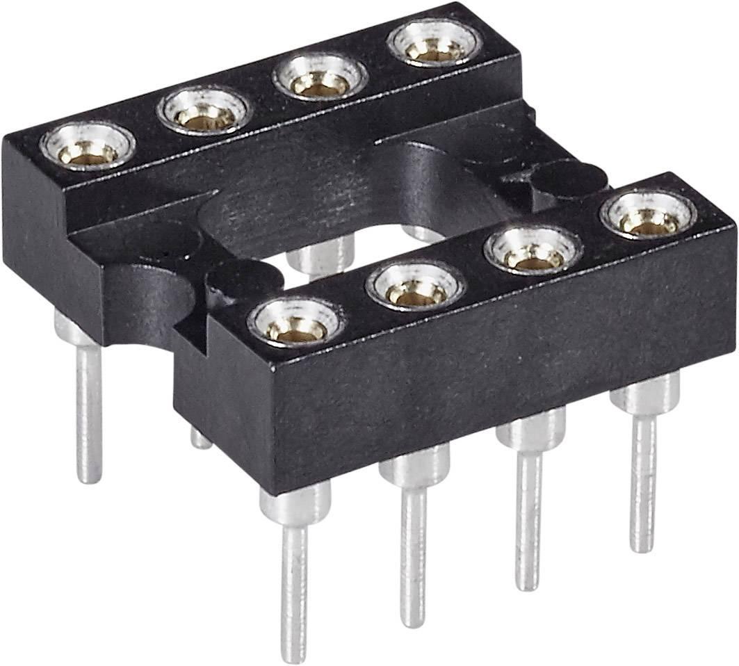 IC pätica MPE Garry 001-1-008-3-B1STF-XT0 presné kontakty, rozteč 7.62 mm, 2.54 mm, pólů 8, 1 ks