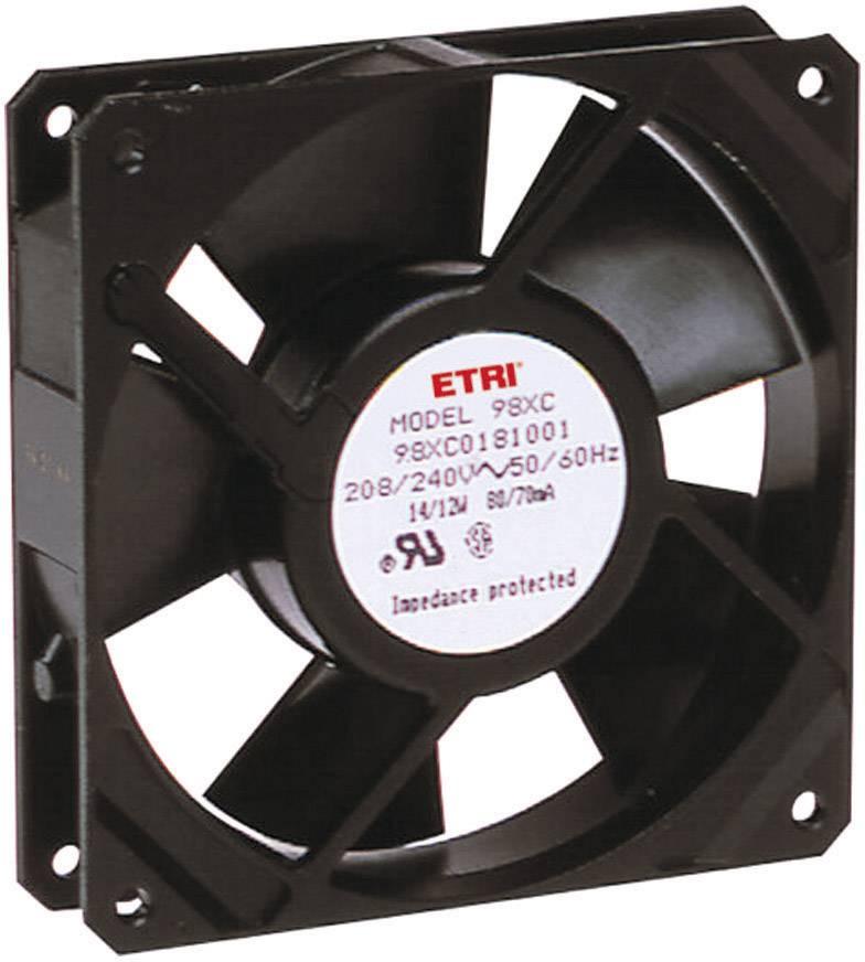 Axiálny ventilátor Ecofit 98XH0181000 98XH0181000, 240 V/AC, 41 dB (A), (d x š x v) 119 x 119 x 25.9 mm