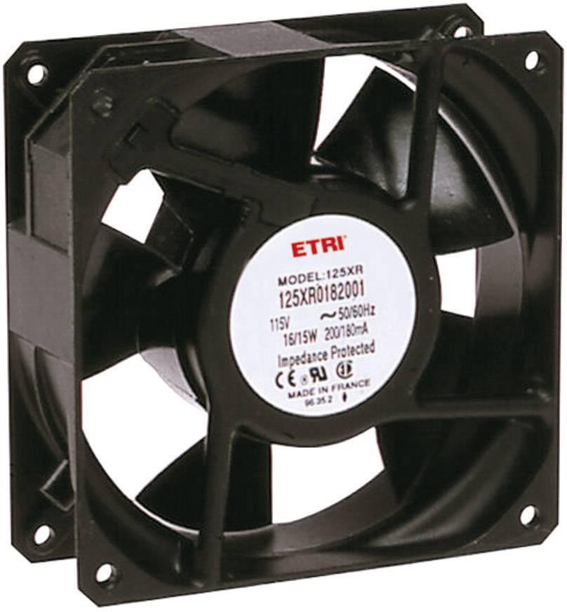 Axiálny ventilátor Ecofit 125XR0182000 125XR0182000, 115 V/AC, 44 dB (A), (d x š x v) 119 x 119 x 38.9 mm