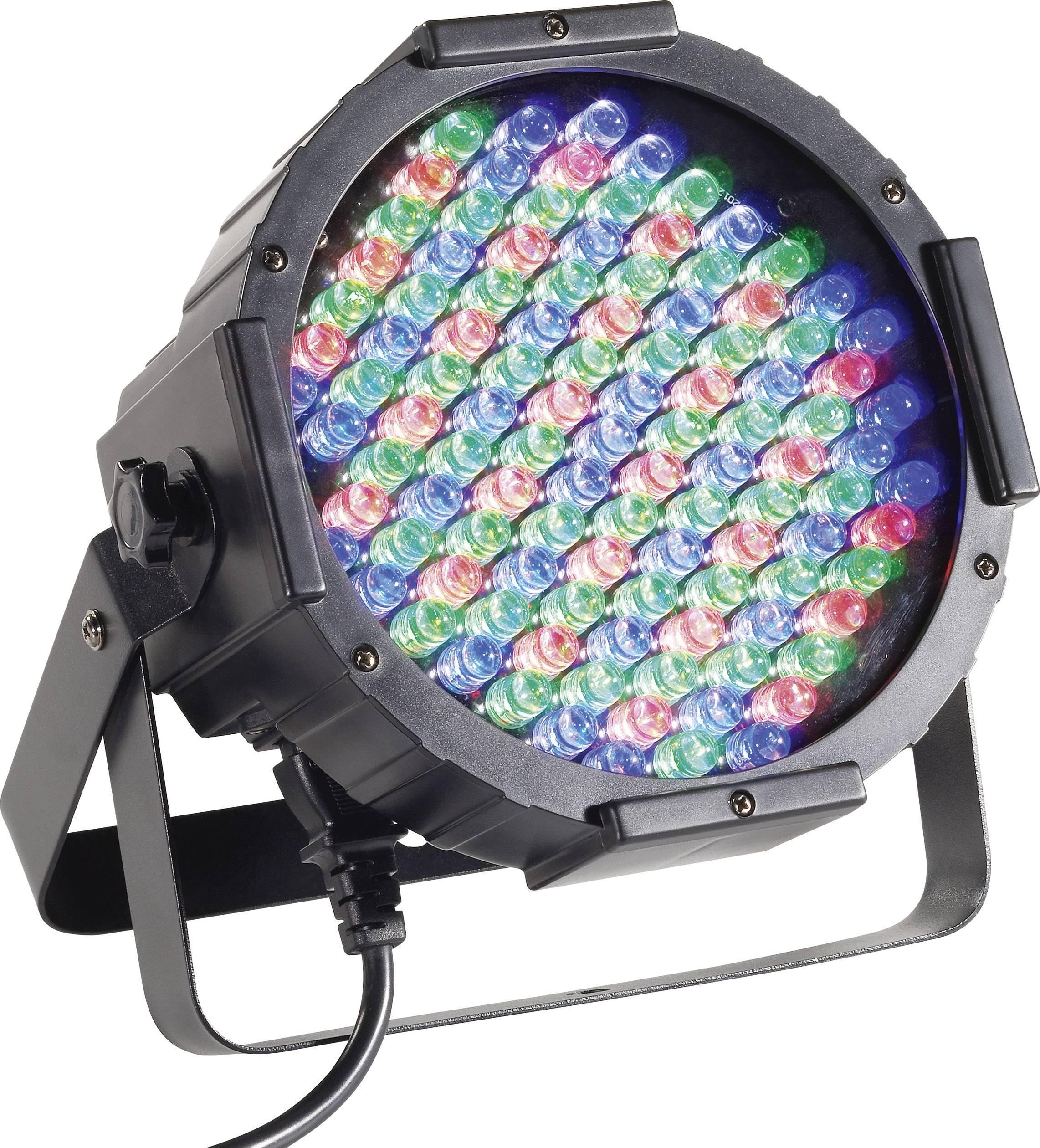 DMX LED PAR reflektor RENKFORCE DL-LED107S, 108 LED