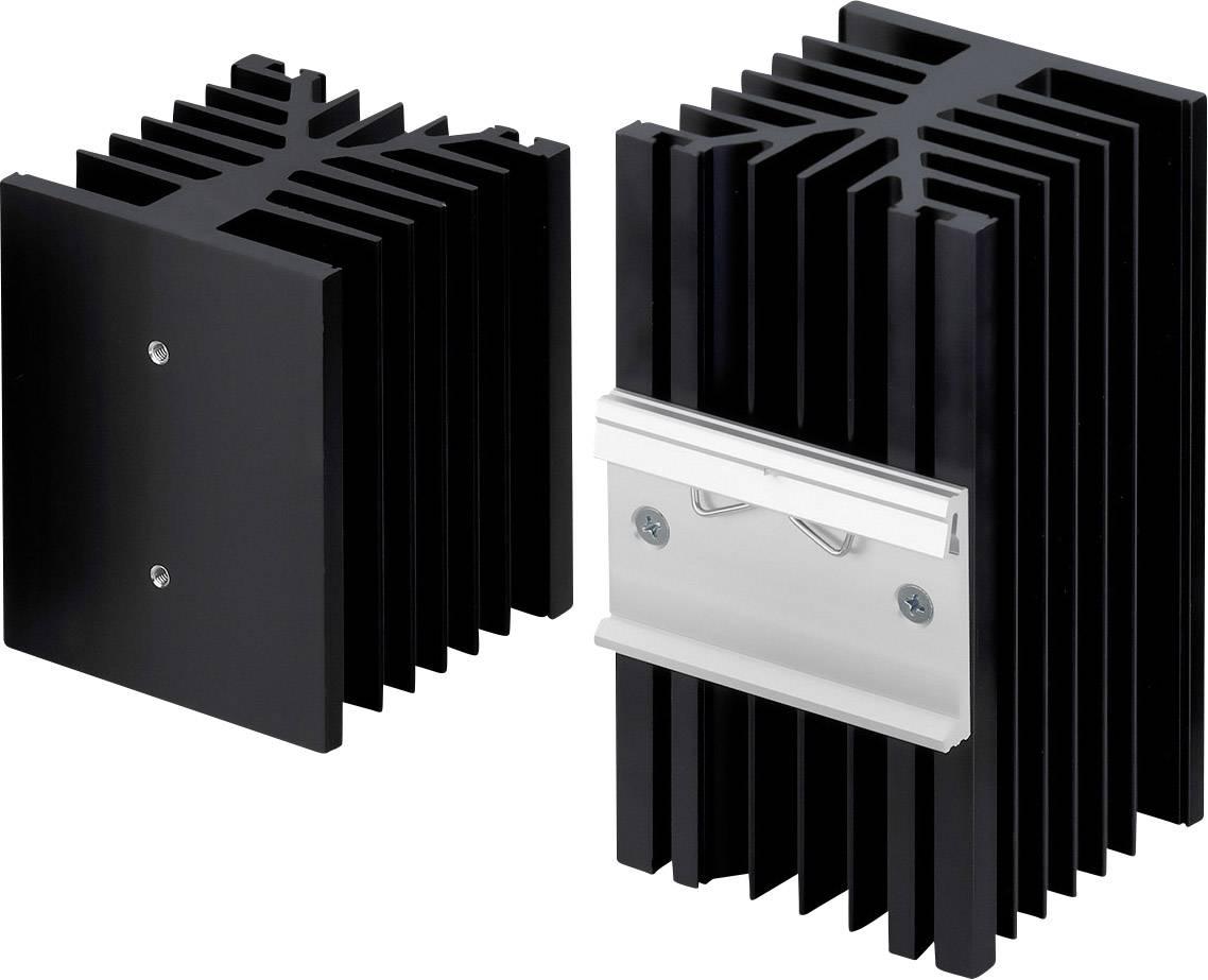 Chladič Fischer Elektronik SK 89 75 KL-SSR1 10022689, 1.2 K/W, (d x š x v) 80 x 75 x 87 mm
