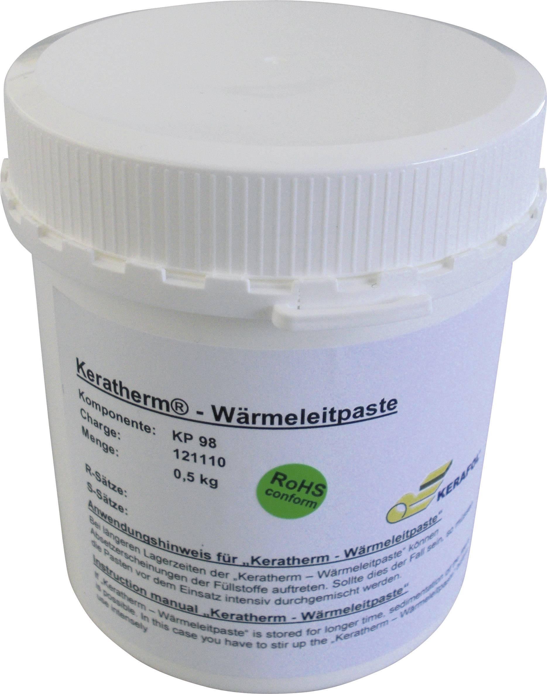 Teplovodivá pasta Keratherm Kerafol KP98, 6 W/mK, 500 g (228 ml), stříkačka