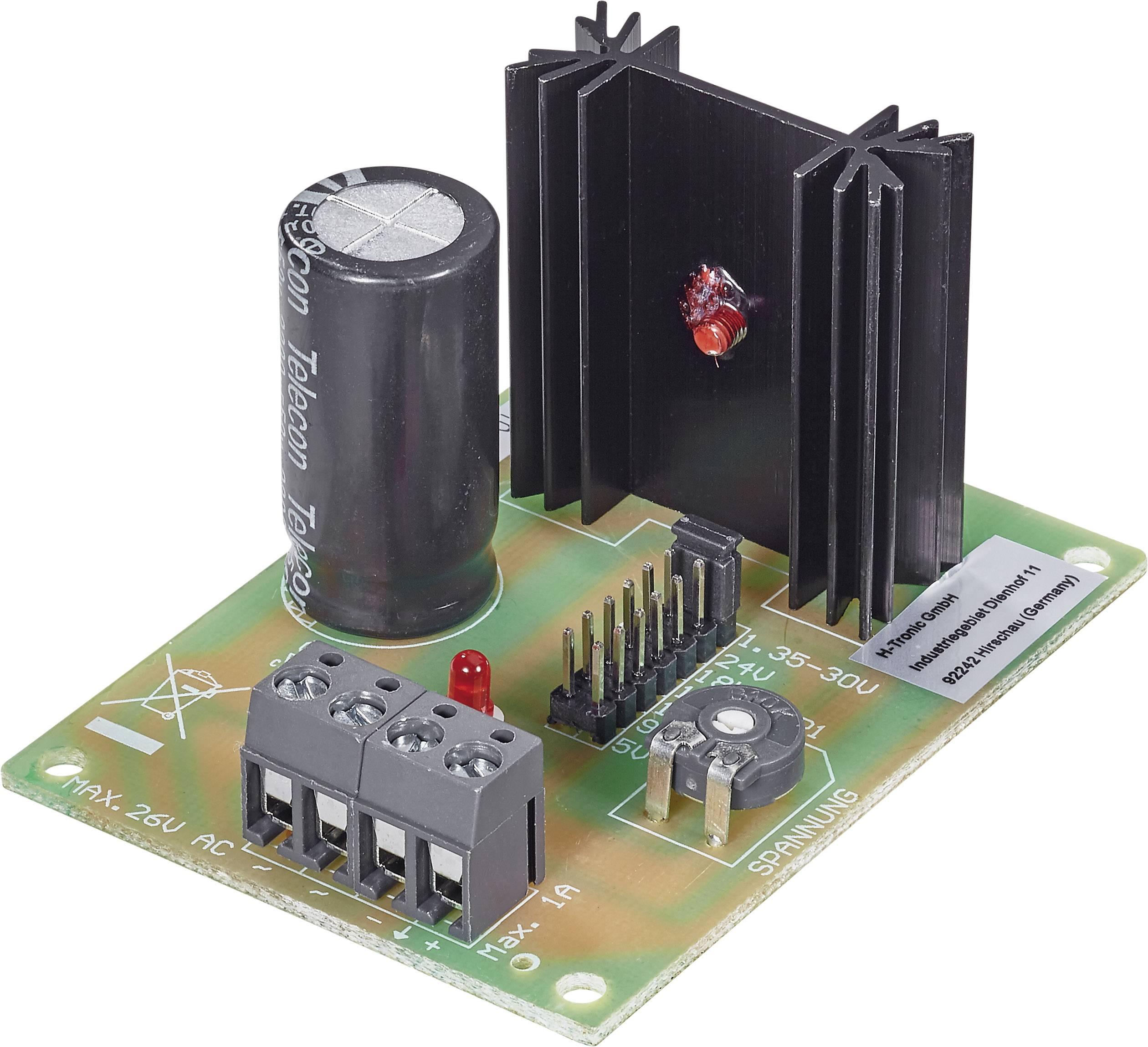 Univerzálny sieťový regulačný modul 1-30V/5-24V