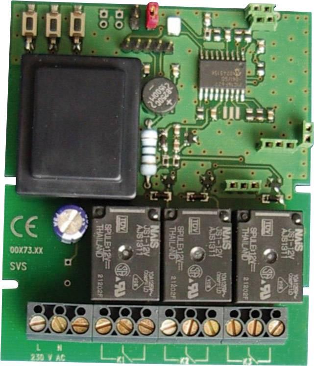 Spínací stupeň SHR-X L3, 230 V pro přijímačí moduly SHR-7 a LER-9