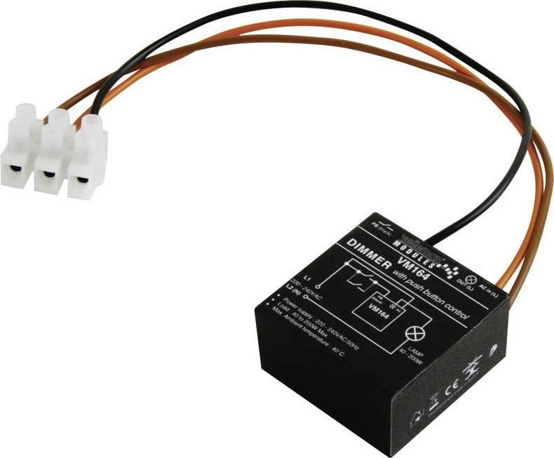Stmievač stavebnicový diel Velleman VM164, 230 V/AC