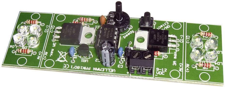 Velleman MK180, 12 V/DC, 2-kanálový, stavebnica