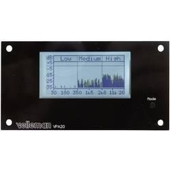 Audio analyzátor Velleman K8098, 12 V/DC