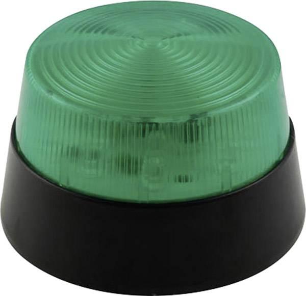 Signální osvětlení LED Velleman HAA40GN, zelená, zábleskové světlo, 12 V/DC
