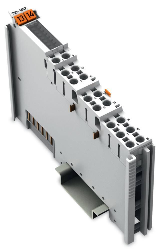 Koncová svorkovnice pro PLC WAGO 750-1607 24 V/DC