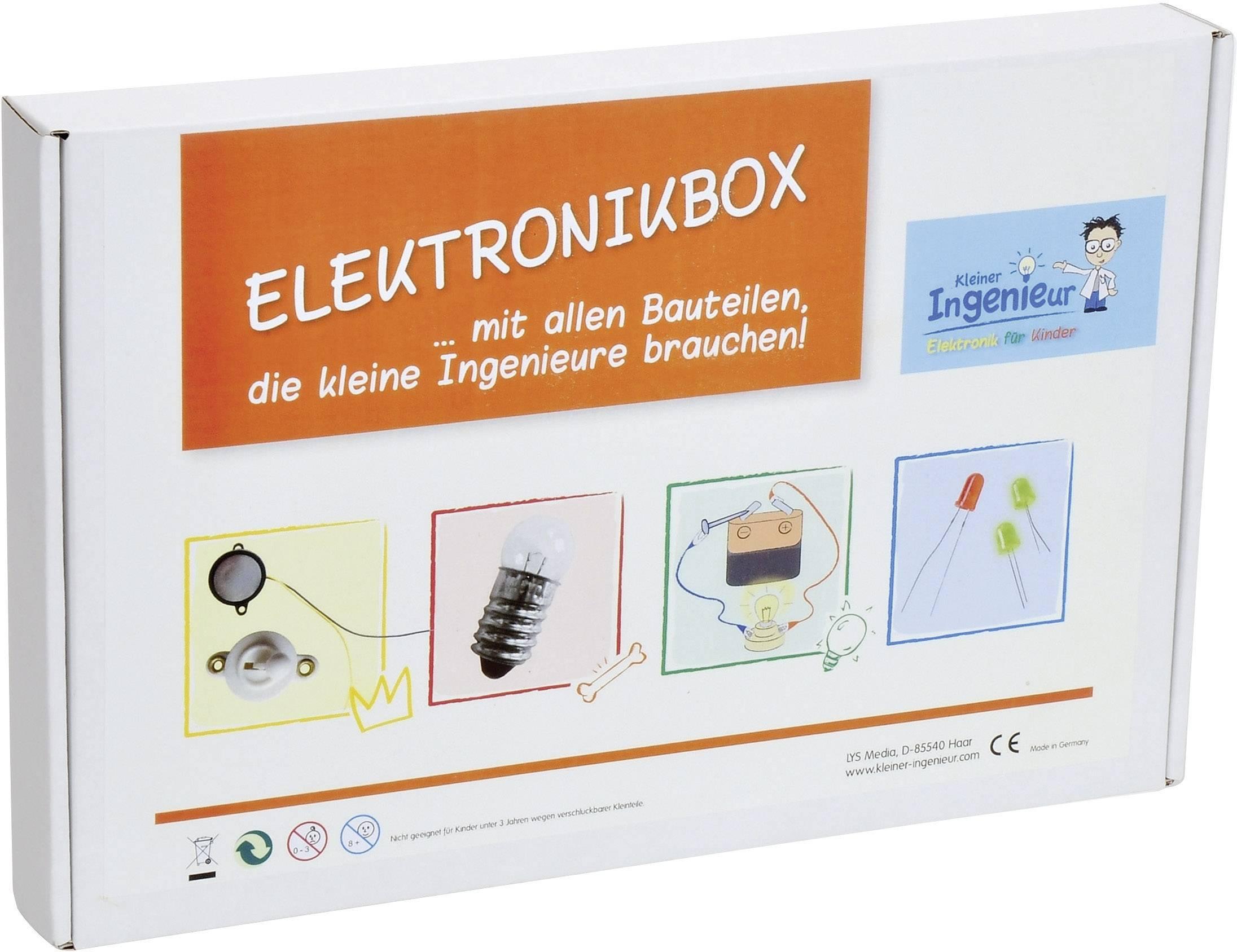 Naučný box Malý inženýr Sol Expert , německý jazyk (47059)