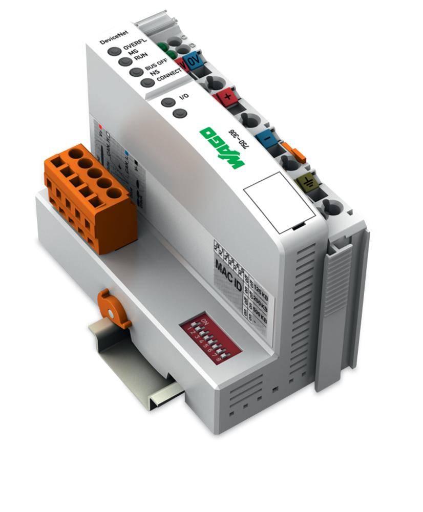 Přípojka sběrnice pro PLC WAGO 750-306 24 V/DC