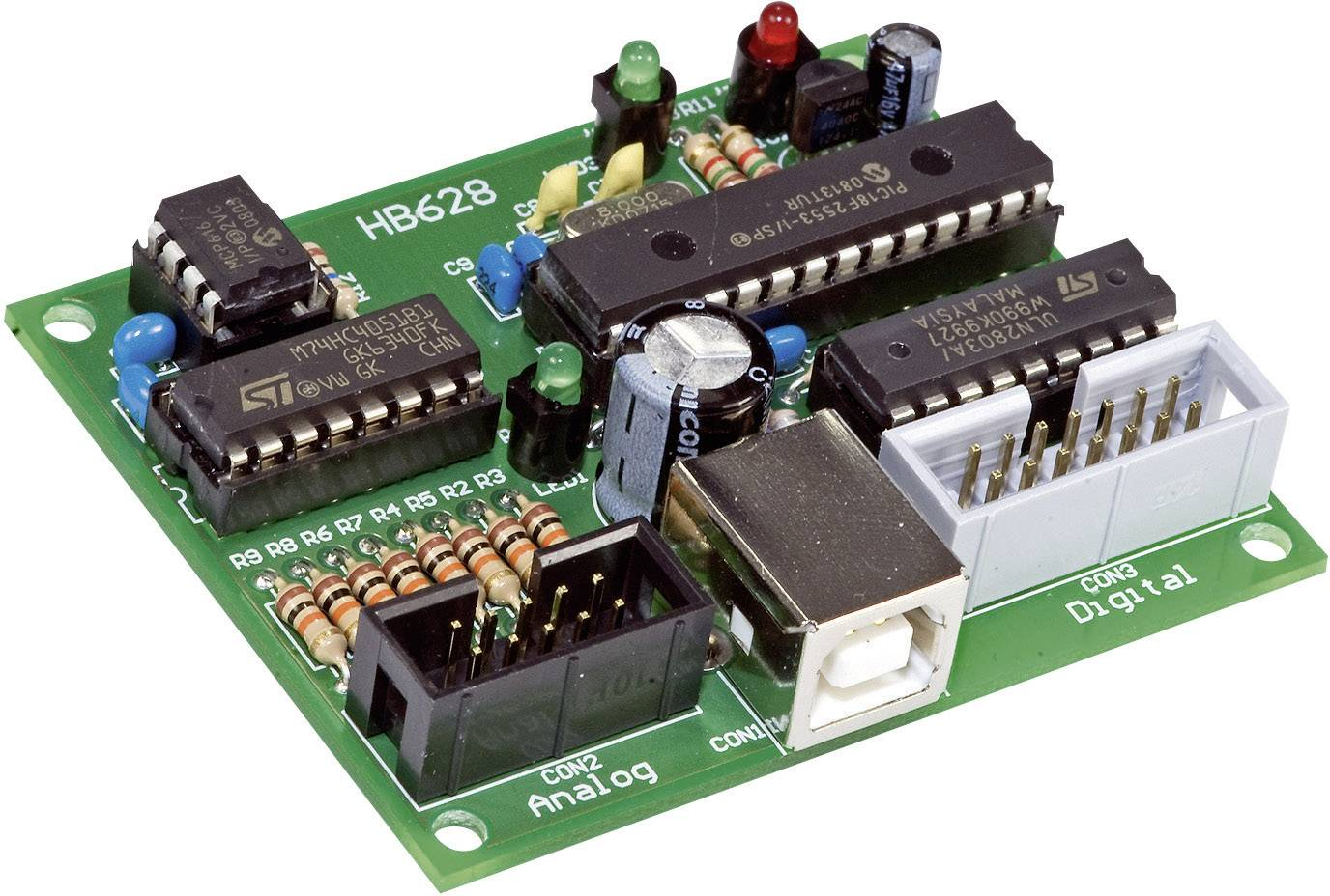 Karta s USB rozhraním hotový modul H-Tronic 191030 5 V/DC