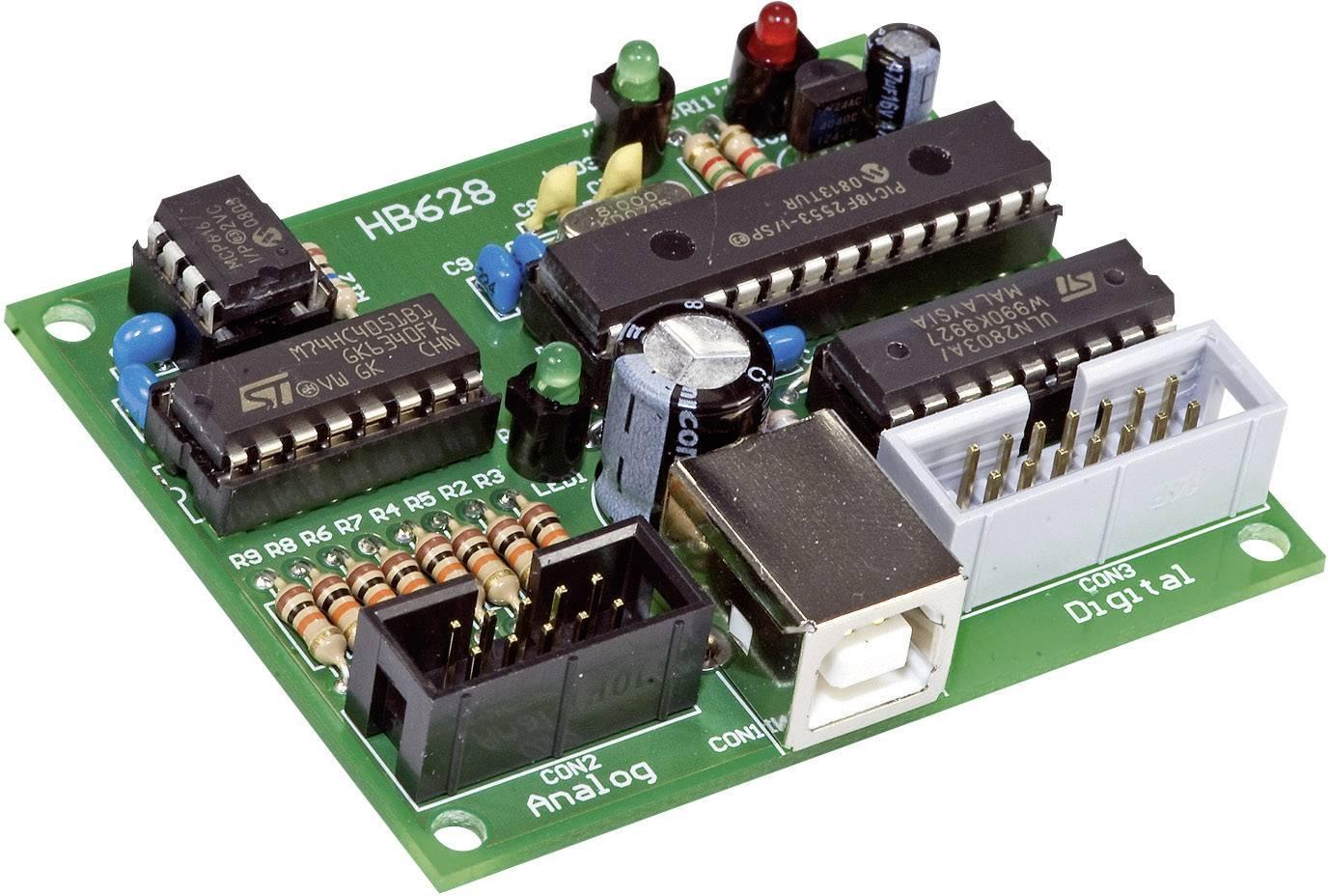 Karta s USB rozhraním stavebnicový diel H-Tronic 191030 5 V/DC