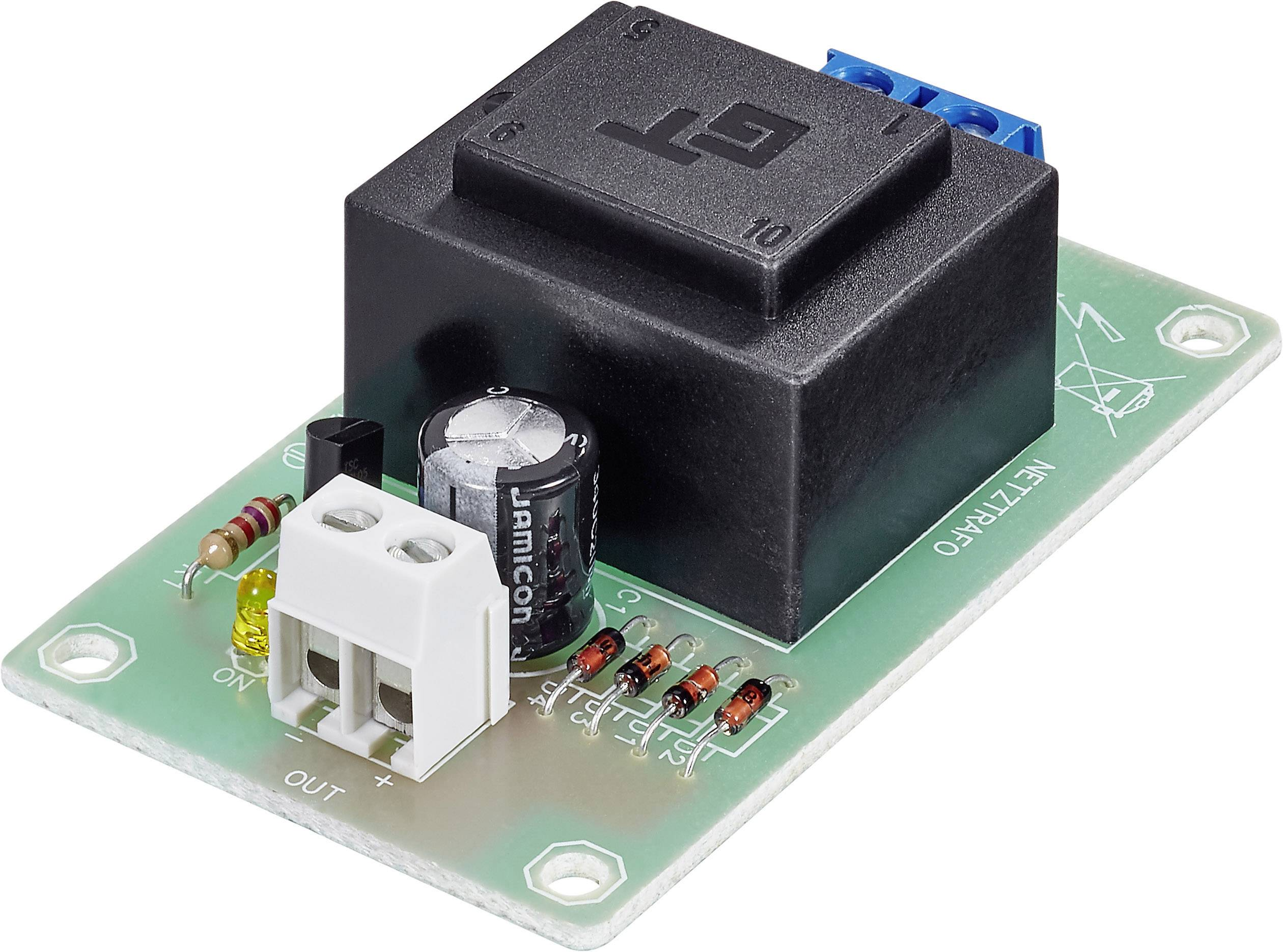 Stavební modul proudového zdroje 5V/100mA (sestaveno)