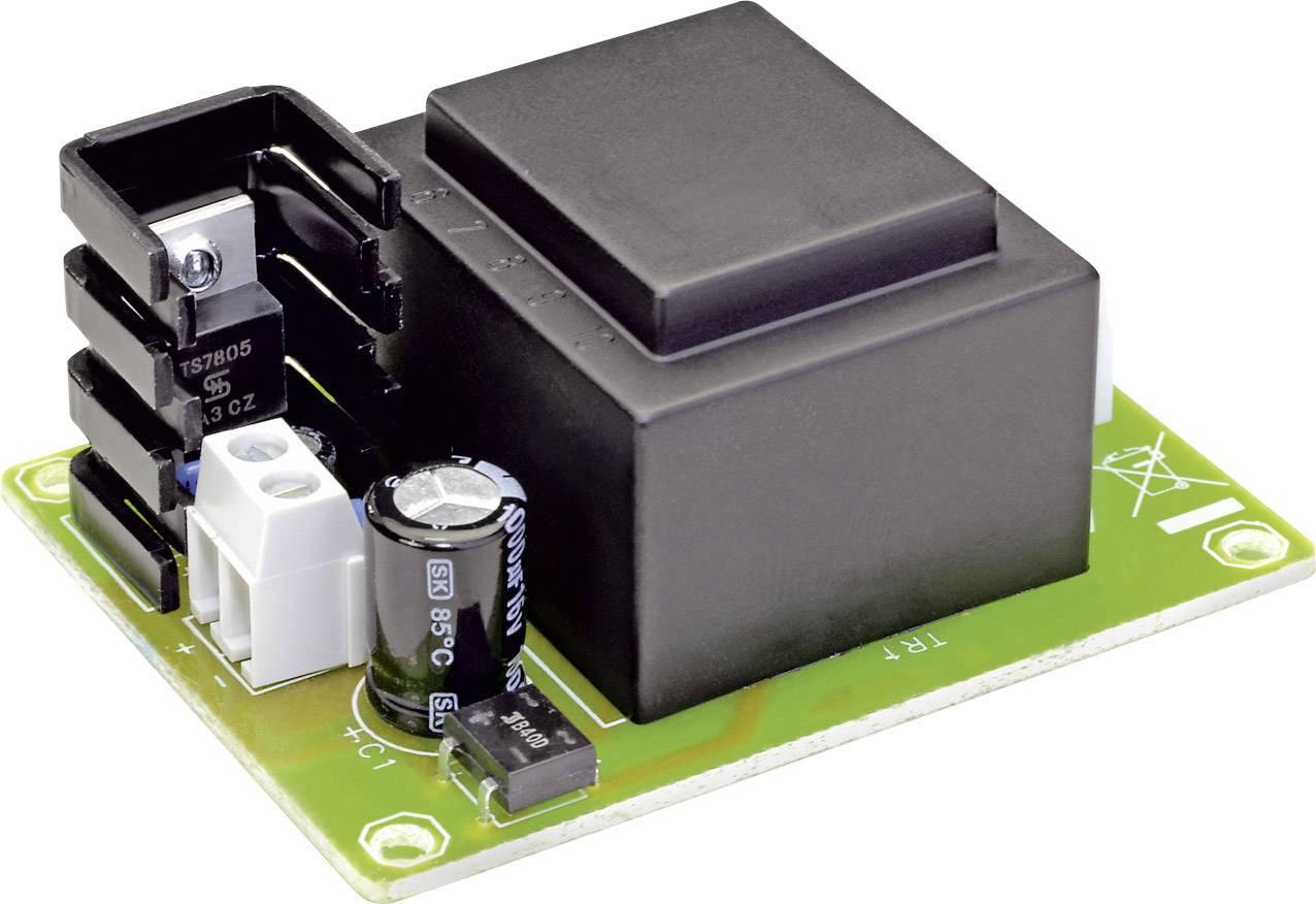 Stavební modul proudového zdroje 9V/500mA (sestaveno)
