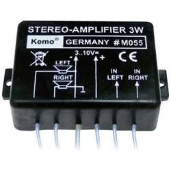 Univerzální stereo zesilovač Kemo M055, 300 mA, 70 x 46 x 23 mm