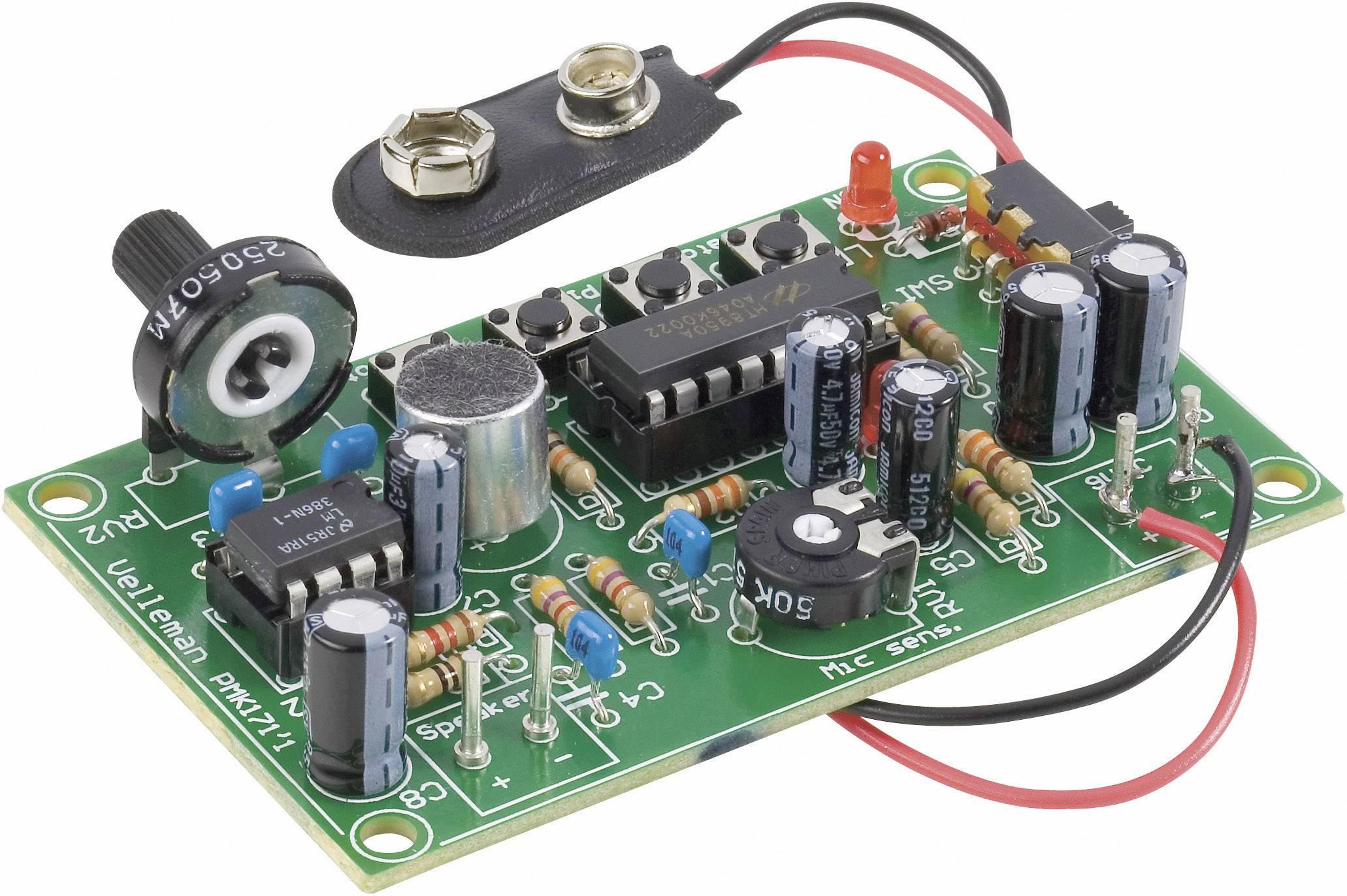 Měnič hlasu Velleman MK171, 9 V/DC (stavebnice)