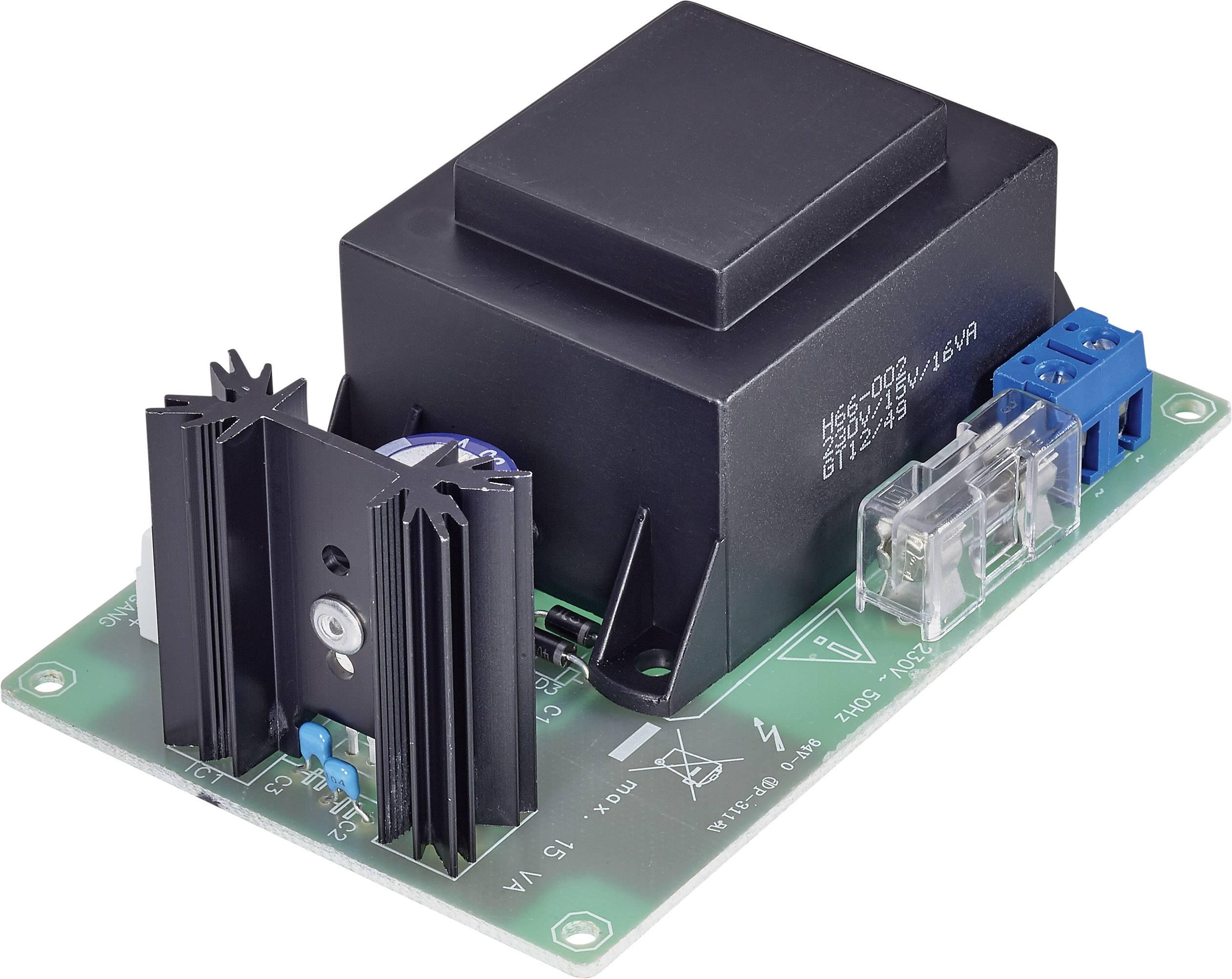 Modul proudového zdroje 12 V/900 mA (sestaveno