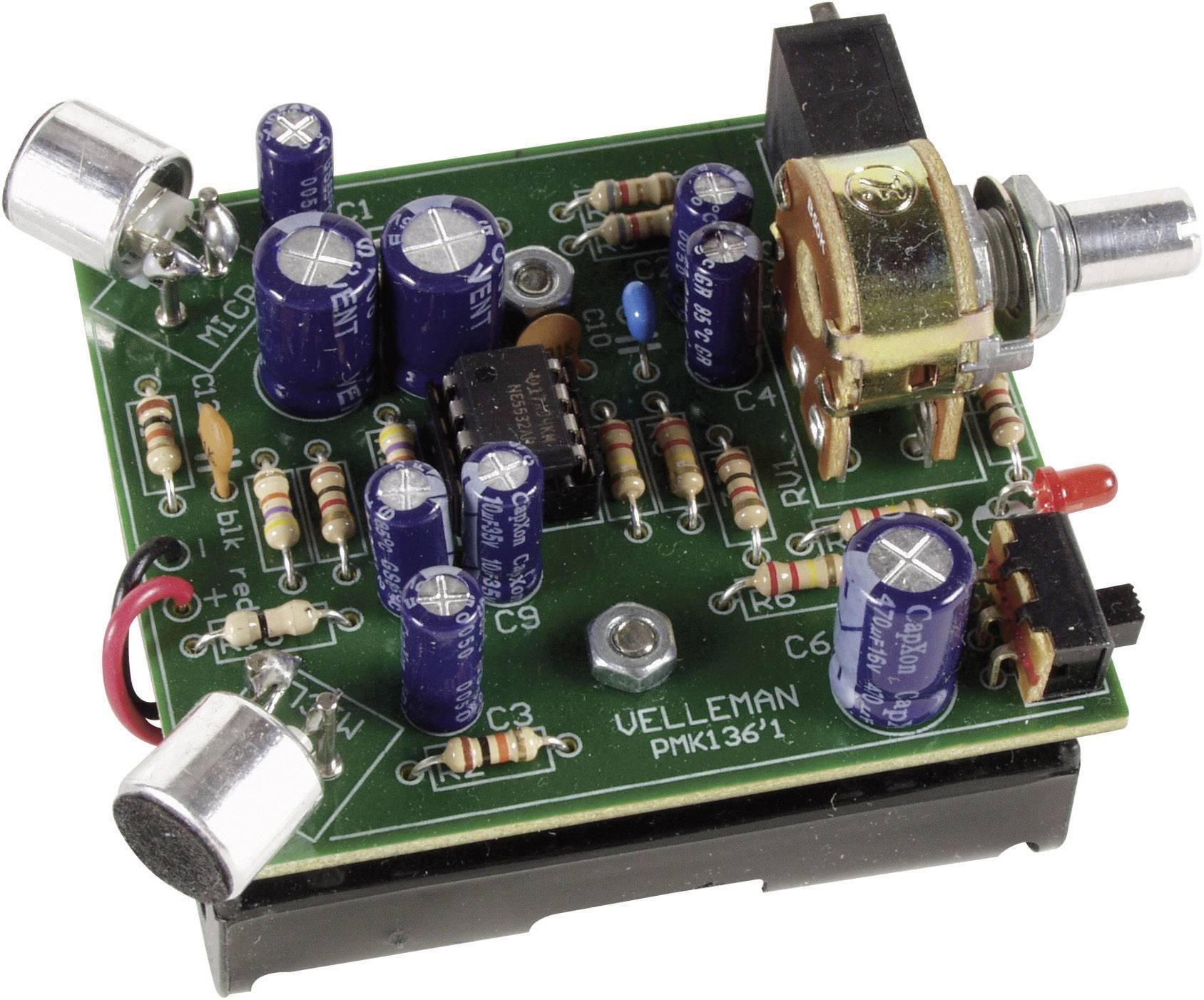 Zosilňovač zvuku s prípojkou na slúchadlá