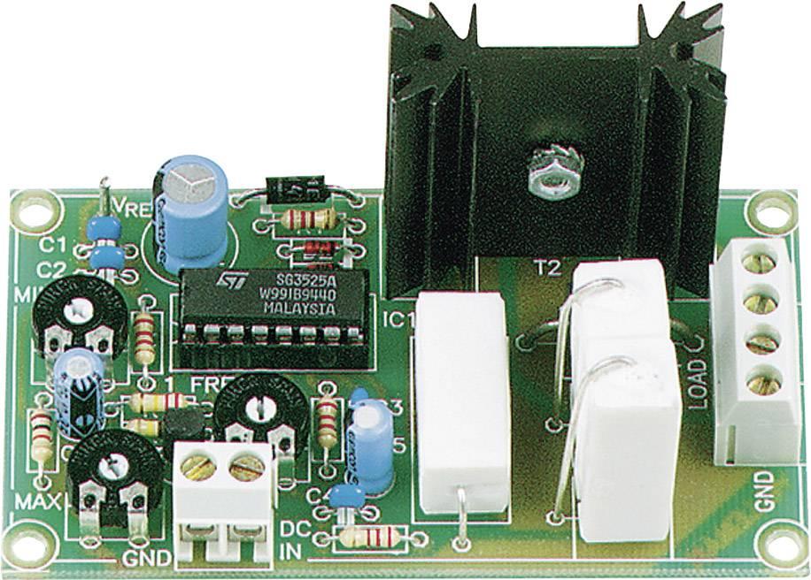 Regulátor napájania PWM stavebnica Velleman K8004, 9 V/DC, 12 V/DC, 24 V/DC, 35 V/DC, 6.5 A