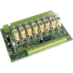 Dálkově ovládaná 8kanálová reléová karta Velleman K8056, 12 V/DC