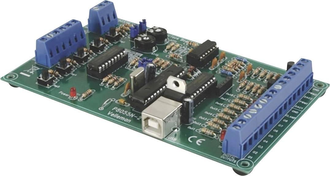 USB pokusný interface panel