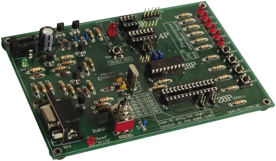 Experimentálna stavebnica s programovaním, Velleman PICR K8048