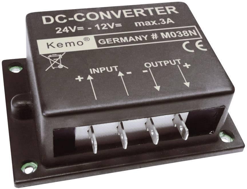 Menič napätia Kemo M038N, 12 V/DC (max.)