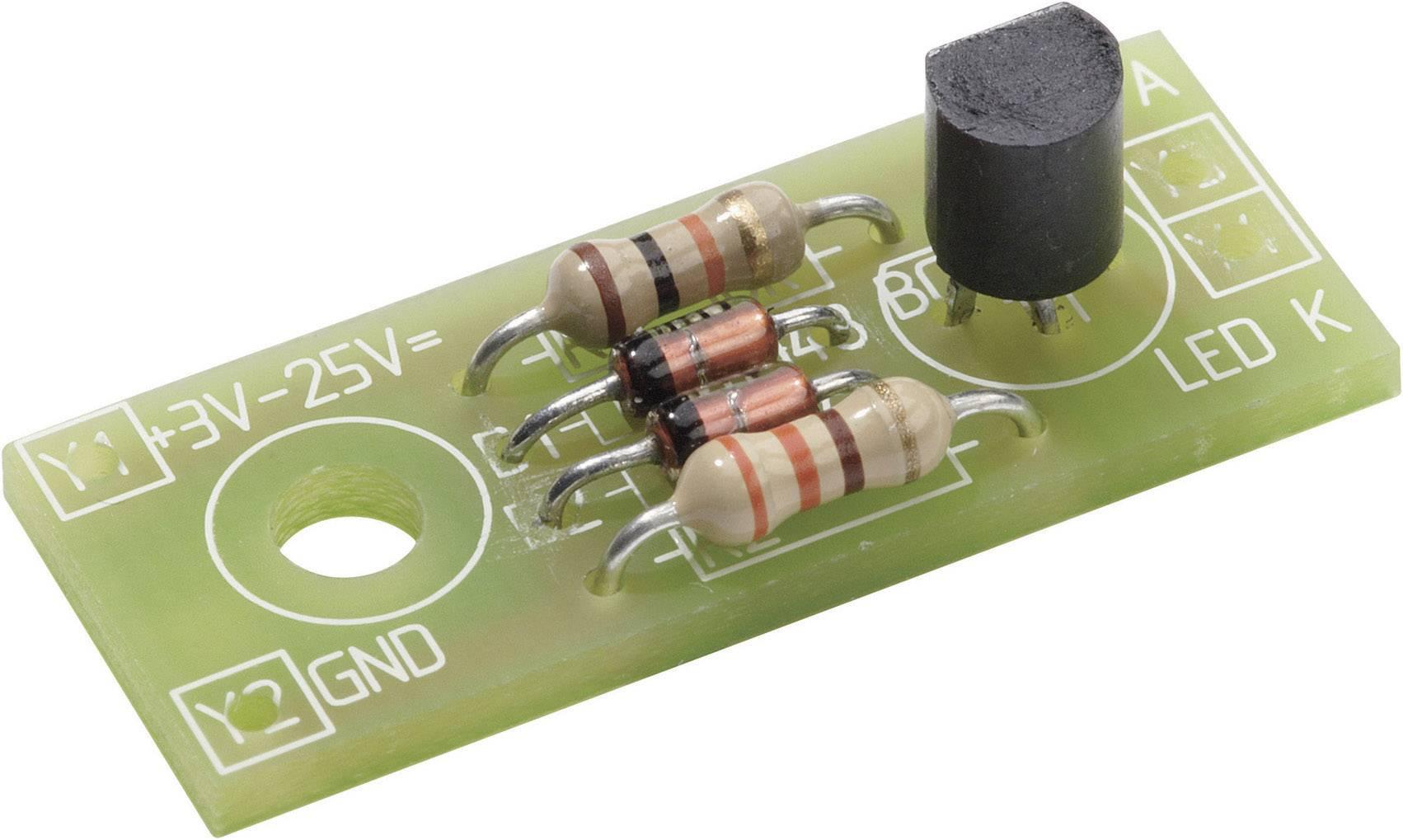 Konstantní zdroj proudu pro LED, 3 - 25 V/DC, 28,2 x 11,4 x 12 mm