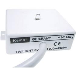 Soumrakový spínač Kemo M013N, 40 mA, 69 x 59 x 23 mm, 220 - 240 V/AC (modu)