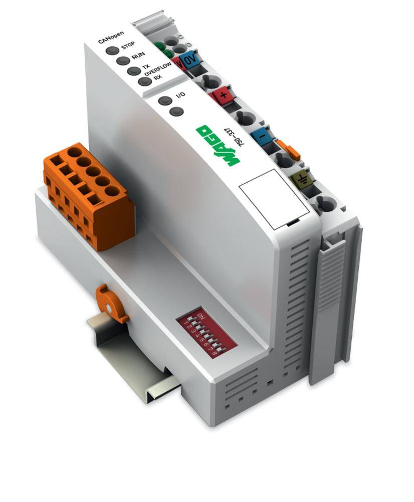 Konektor provozní sběrnice pro PLC WAGO 750-337 FC CANopen MCS, 24 V/DC