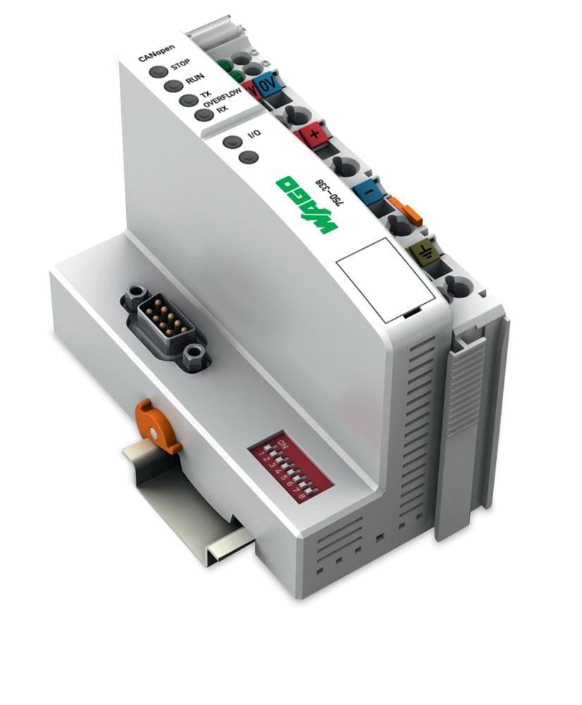 Přípojka sběrnice pro PLC WAGO 750-338 24 V/DC