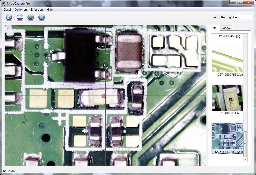 Mikroskopová kamera dnt DigiMicro Profi USB, 5 Mpix, 20 až 300x