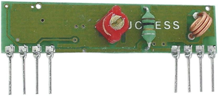 Deska přijímače Velleman RX433N Max. dosah: 200 m 5 V/DC