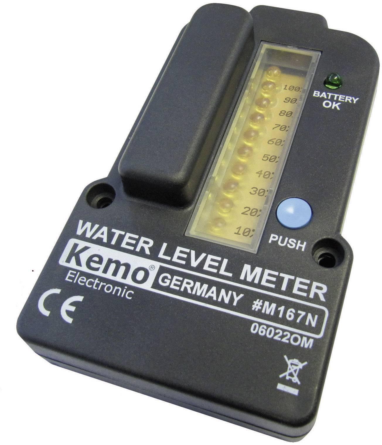 Ukazatel stavu hladiny Kemo M167N, 3 V/DC (modul)