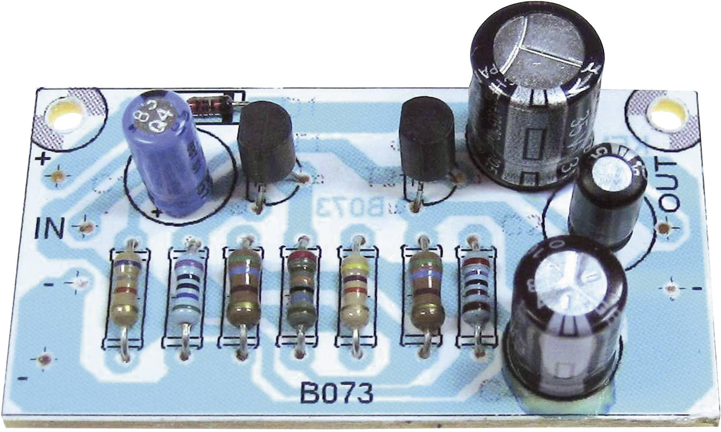 Predzosilňovač Kemo B073, 12 V/DC, 24 V/DC, 30 V/DC, stavebnica