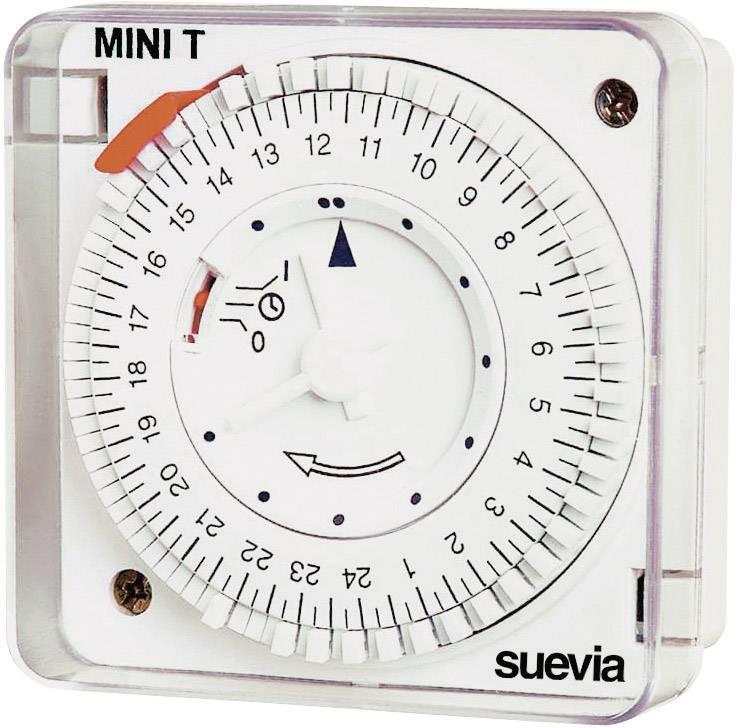 Časovač na omietku Suevia Mini T QRD, 230 V/AC, 16 A/230 V
