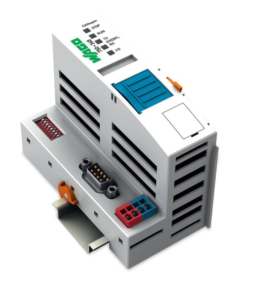 Přípojka sběrnice pro PLC WAGO 750-348 24 V/DC